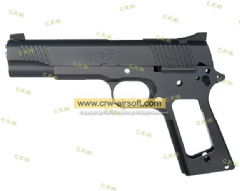 NOVA Kimber LAPD SWAT Conversion Kit for Marui MEU GBB (Black)(TM-GMK-041-BK)